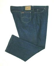 ::>   LEE JEANS   ~ Mens  RELAXED FIT   Blue Jeans ~ Sz 58/60 x 32 ~ PERFECT