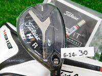 Titleist 818 H1 23* Hybrid Tensei CK 70 Regular Graphite with HC & Weights New