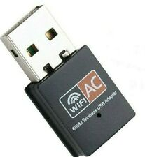 WiFi AC USB Dongle Dual Band Adapter 600Mbps 802.11ac Mini Wireless Network N