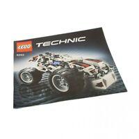 1x Lego Technic Bauanleitung Heft 2 Model Off-Road Buggy Fahrzeug 8262