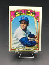 1972 TOPPS BASEBALL BILLY WILLIAMS HOF EX-MT/NM #439 CHICAGO CUBS
