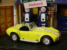 Greenlight PENNZOIL Motor World SHELBY COBRA 427 SC✰Yellow;White stripes✰LOOSE✰