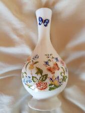 """Aynsley Cottage Garden 6"""" Bud Vase. Fine English bone China."""