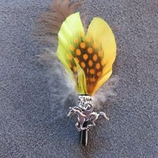 Hat Feathers Horse Charm for Akubra Line Dancing Design 2018