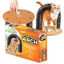 Tout nouveau chat massage Toilettage gratter Arch jouet self toiletteur catnip inclus