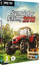 SYMULATOR FARMY 2016 PC DVD POLSKA WERSJA POLISH POLNISCHE FARMING SIMULATOR