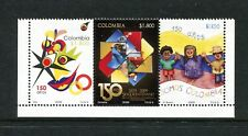 Colombia 1327a-c, MNH, Stamp Disign 2009. x29890