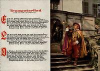 Trompeter Lied Viktor v. Scheffel Text Musik Musiker Trompete Säckingen am Rhein