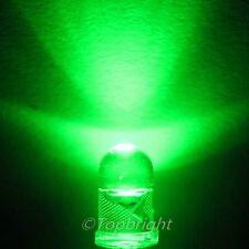 10 PC 0.5W 5-Chips 5mm 60° High Power Green LED 90Kmcd