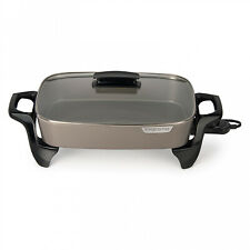 Presto 16-inch Ceramic Electric Skillet With Glass Cover 06856
