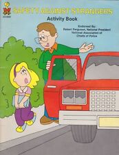 Safety Against Strangers Children's Educational Activity Book by Carson-Dellosa