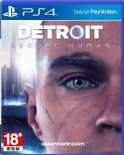 Detroit: Become Human HK Chinese/English subtitle PS4 NEW