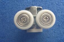 two B&Q shower door rollers /Runners/ shower spare part sliders NR031