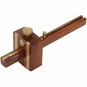 """6"""" High Quality Mortice Marking Gauge Carpenters Woodworking Tool Brass Door"""