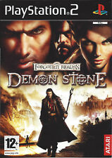 FORGOTTEN REALMS DEMON STONE for Playstation 2 PS2 - with box & manual - PAL