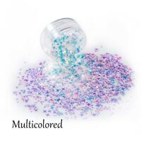 DIY Tips Laser Sequins Four Angle Star Thin Paillette Flakes Nail Art Glitter