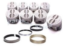 Speed Pro Chrysler Dodge 440 Six 6-Pack Forged Flat Top Pistons Moly Rings .040""
