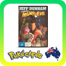 JEFF DUNHAM - MINDING THE MONSTERS -  DVD & R4 - FREE POST !!!