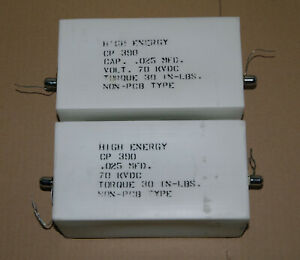 0.025uF 25nF 70kV 70000V High Voltage HV Military/HAM Radio RF Capacitor CP390