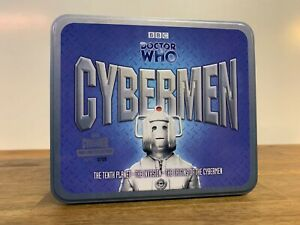 Doctor Who Cybermen 0705 of 8000 Limited Edition Tin 6 CD Audio Soundtrack BBC