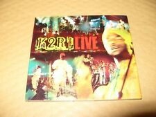 K2R RIDDIM LIVE cd Digipak cd is Excellent/ Broken Teeth On Inner Tray 1999