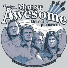 MOUNT AWESOME Star Wars Firefly Star Trek Battlestar Galactica NEW TEEFURY SHIRT