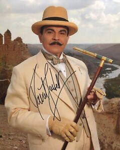 POIROT Murder on the Orient Express photo signed by David Suchet - UACC DEALER!