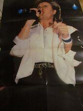 Simon Le Bon, Duran Duran, Eight Page Foldout Poster