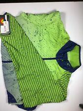 SheBeest Cascade Windshell Jacket Green/Blue Women's Small