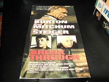 Breakthrough-Richard Burton-Robert Mitchum-Rod Steiger