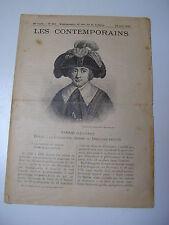 """Journal """"les contemporains"""" n°915 : BARRAS député à la Convention 1910"""
