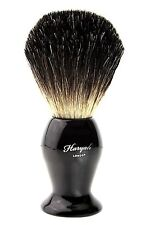100% Black Badger Hair Shaving Brush Powder Coated Steel Handle