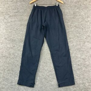 Champions Womens Track Pants Size S Small Blue Elastic Waist Pockets 276.17