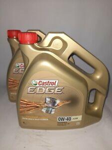 8 Liter (=2 x 4 L) Castrol EDGE Titanium 0W-40 A3/B4 Motorenöl MB VW