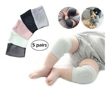 5 Par de Rodilleras Para Bebe Protector Para Gatear ~ Crawling Knee Pads Baby