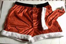 Cheer Santa Hat & Boxer Shorts Gift Set, Men's Large 36-38, Nwt, Retailed $32.00