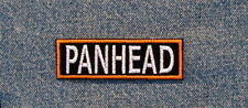 PANHEAD PAN HEAD Biker Motorcycle Patch by Dixiefarmer