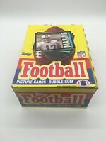 1985 Topps Football Unopened Wax Box of (36) packs Possible Elway, Marino, Moon
