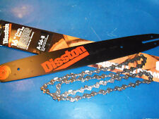 "NEW DISSTON 16"" BAR & CHAIN FITS HOMELITE 240 190 180 245 SAWS A56B FREE SHIP"