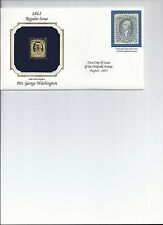 Golden Replica Stamps, 1861 90 cent George Washington