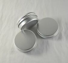 3Pcs White Metal Outdoor Portable Mini Tobacco Humidor cans Airproof Pot Pj001