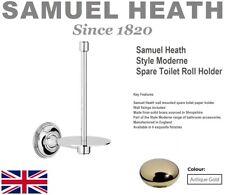 Samuel Heath Style Moderne N6631-AG Spare Paper Holder in Antique Gold FinishNIB