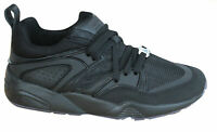 Puma Blaze Of Glory BOG Reflective Mens Trainers Black Lace Up 362188 03 B102C