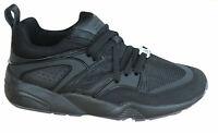 Puma Blaze Of Glory BOG Reflective Mens Trainers Black Lace Up 362188 03 B102C