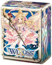 Wixoss Sashe Card Game Character Deck Box Holder Case Standard Version Black