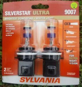 Sylvania SilverStar Ultra 9007 Dual Pack Halogen Bulbs Brand New/Sealed!!!