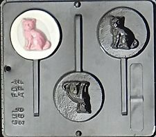 Cat Lollipop Chocolate Candy Mold 266 NEW