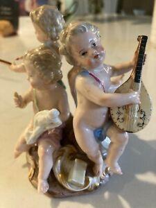 Meissen Group ?? 4 cherubs