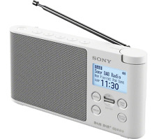 NEW SONY XDRS41DW DAB+ RADIO (WHITE)