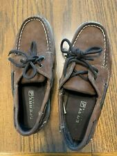 Boys Sperry Top sider sz 3 1/2 Med/ very good condition (color slightly darker)